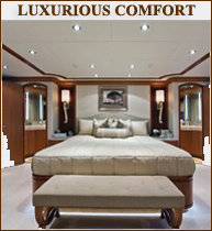 Yacht Interiors Luxurious Comfort