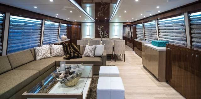 Heres Whats New In Yacht Interior Design And Dcor